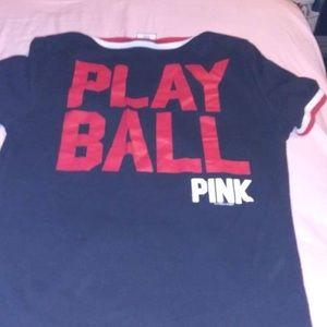 PINK Victoria's Secret Tops - Pink reds shirt